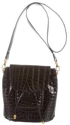 Lana Marks Alligator Shoulder Bag