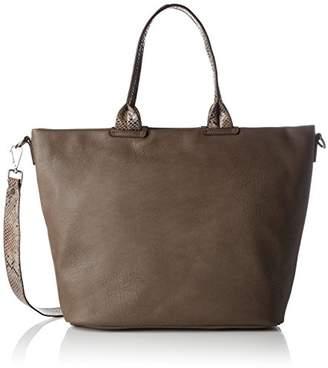 ... Gabor Nura, Women's Shoulder Bag, Grau (Taupe), 11x29x45.5 cm