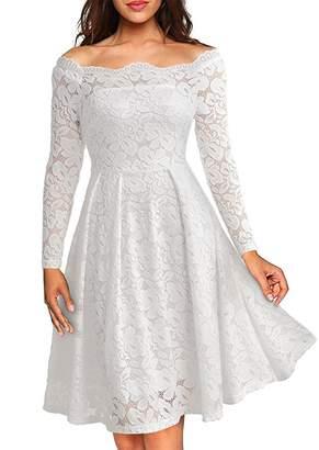 Church's Angel Legend Women's Mother of the Bride Groom Wedding Dress Party Evening Cocktail Dress,XL