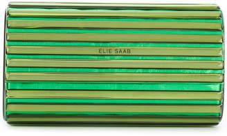Elie Saab metallic clutch bag
