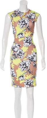 Torn By Ronny Kobo Floral Print Bodycon Dress w/ Tags
