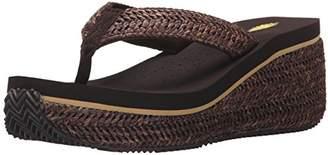 Volatile Women's Marine Wedge Sandal