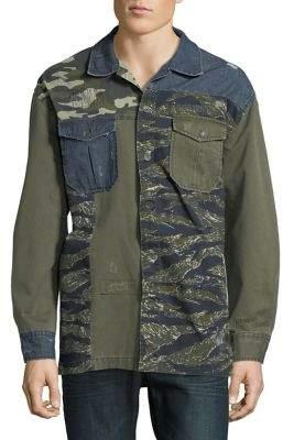 True Religion Patchwork Cotton Jacket