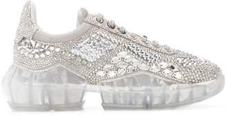 Jimmy Choo Crystal Shimmer sneakers