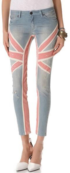 Superfine Union Jack Jeans