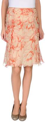 Blumarine Knee length skirts - Item 35229185VD