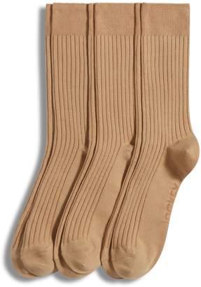 Jockey 3-Pack Rib Crew Dress Socks