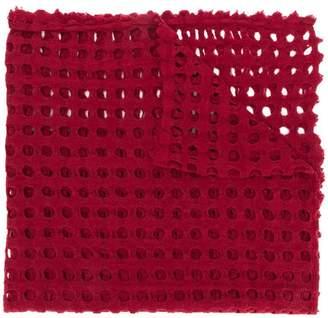 Faliero Sarti holey knit scarf