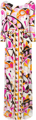 Emilio Pucci printed gown