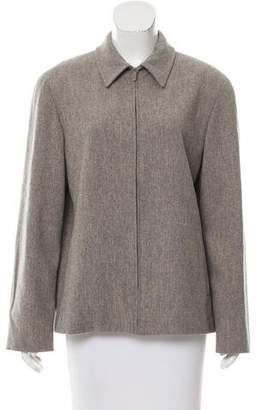 Calvin Klein Collection Wool Knit Jacket