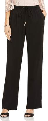 Vince Camuto Textured Drawstring Pants