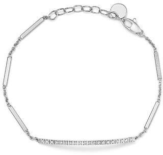 Marco Bicego 18K White Gold Goa Diamond Chain Bracelet