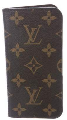 Louis Vuitton Monogram iPhone Folio Brown Monogram iPhone Folio