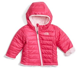 Infant Girl's The North Face 'Mossbud' Reversible Water Repellent Jacket $80 thestylecure.com
