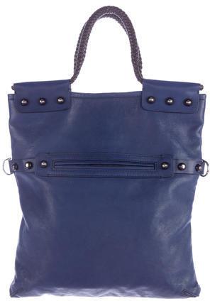 LanvinLanvin Fold-Over Leather Bag