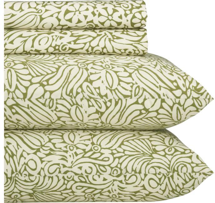 Marimekko ® Tamara Olive Sheet Sets