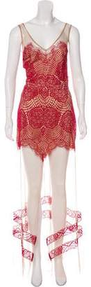 For Love & Lemons Sleeveless Maxi Dress