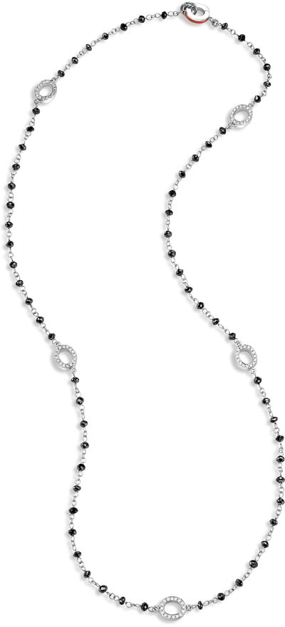 Ivanka Trump Black Diamond Briolette Necklace