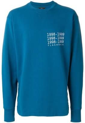 Paura printed sweatshirt