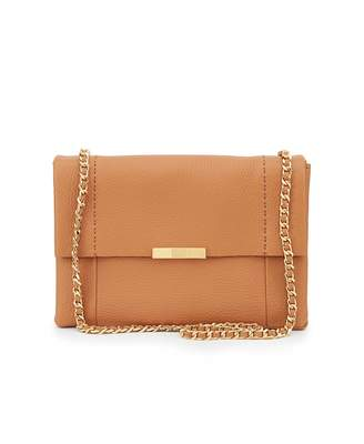 Ted Baker Clarria Soft Leather Chain Shoulder Bag Colour: TAN, Size: O
