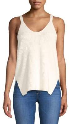 Helmut Lang Racerback Cotton Tank Top