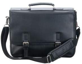 Kenneth Cole Reaction Leather Flap Portfolio Briefcase