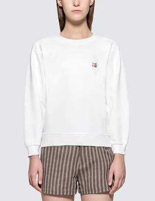 MAISON KITSUNÉ Fox Head Patch Par Rec Sweatshirt