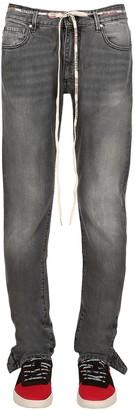 Represent Popper Cotton Denim Jeans
