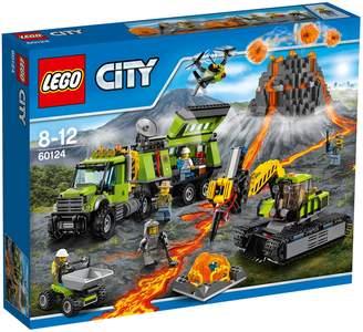 Lego City Volcano Volcano Exploration Base 60124
