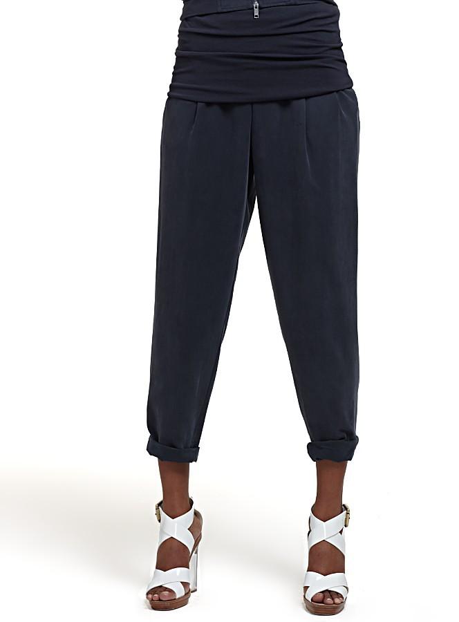 DKNY Silk Utility Pants