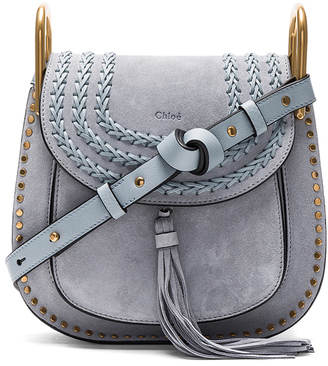 Chloe Small Suede Hudson Shoulder Bag $2,090 thestylecure.com