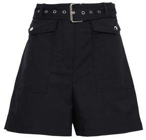 3.1 Phillip Lim Belted Cotton-blend Shorts