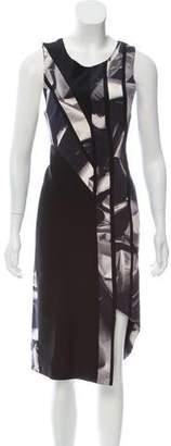 Dion Lee Printed Silk Dress