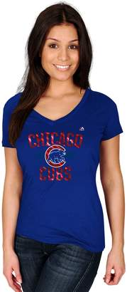 Majestic Women's Chicago Cubs Relentless Tee