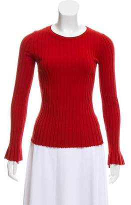 Bailey 44 Rib Knit Long Sleeve Top
