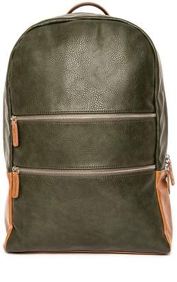 Co Brouk & Alpha Green Vegan Leather Backpack