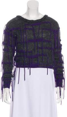 Risto Fringe Trimmed Sweater