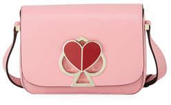 Kate Spade Nicola Twist-Lock Small Flap Shoulder Bag