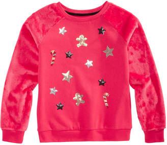 Epic Threads Big Girls Candycane Sweatshirt