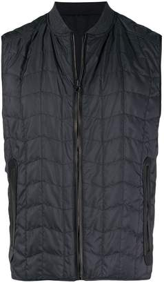 Salvatore Ferragamo quilted zipped vest