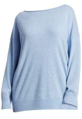 Lafayette 148 New York Lafayette 148 New York, Plus Size Relaxed Cashmere Sweater