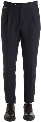 Pt01 18cm Linen Canvas Pants