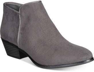 Style & Co Wileyy Ankle Booties, Created for Macy's Women's Shoes $69.50 thestylecure.com