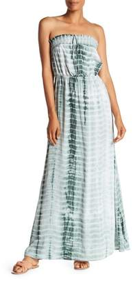S.H.E. Smocked Halter Maxi Dress