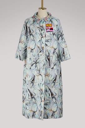 Miu Miu Mikado silk coat