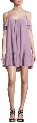 Joie Women's Stellara Silk Cold-Shoulder Dress