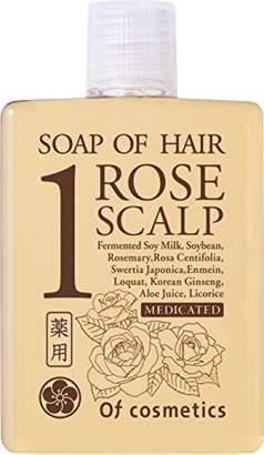 Of Cosmetics (オブ コスメティックス) - オブ・コスメティックス 薬用ソープオブヘア・1-ROスキャルプ ミニサイズ (ローズブーケの香り)60ml