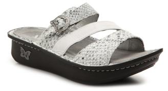 Alegria Colette Wedge Sandal $110 thestylecure.com