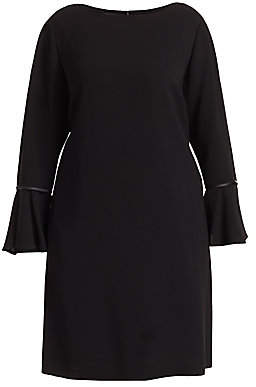 Lafayette 148 New York Lafayette 148 New York, Plus Size Women's Jorie Velvet Flared Sleeve Dress