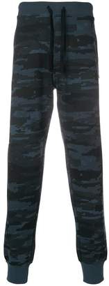 Diesel camouflage drawstring trousers